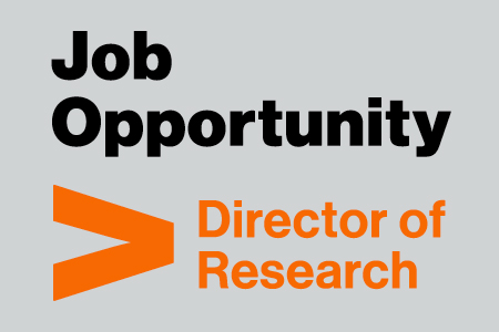 Job Opportunity: Director of Research